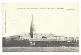 CPA - WESTMALLE - Cistercienzer Abdij - Trappisten - Gezicht Des Kloosters - Westkant - Abbaye - Cachet Relais   // - Malle