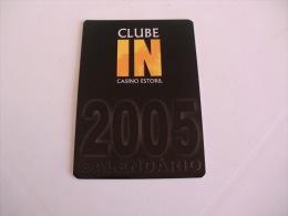 Casino Estoril Portugal Portuguese Pocket Calendar 2005 - Calendriers