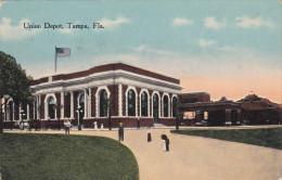 TAMPA, FLorida; Union Depot, PU-1918