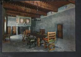 J1755 CASTELLI VALDOSTANI - ISSOGNE - CASTELLO,  SALA DEL CONSIGLIO - Timbro: MANIERO DEI CHALLANT - Nice Timbre - Italia