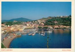 ISOLA D'ELBA    PORTO  AZZURRO       MAXI-CARD  (VIAGGIATA) - Livorno