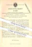 Original Patent - Edm. Heusinger Von Waldegg In Hannover , 1881 , Eiserner Oberbau Für Straßenbahnen , Eisenbahn !!! - Historische Dokumente
