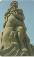 NUOVA-2415--TELECOM ITALIA-SCULTURE DI SABBIA - Italia