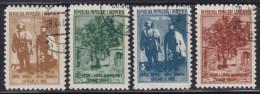 Albania 1958 Mashkullore, Used (o) Michel 564-567 - Albanie