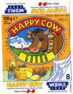 ETIQUETTE FROMAGE  Happy Cow   Autriche - Cheese