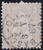 No 28 Avec Oblitération Pleine De BASEL - 1862-1881 Sitzende Helvetia (gezähnt)