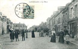 N°6033A -cpa Landelles -la Place- - Andere Gemeenten