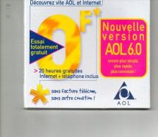 Kit De Connexion Internet (AOL) Prix Abonnement En Francs - Kit Di Connessione A  Internet