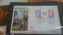 LOT 254737 TIMBRE DE FRANCE OBLITERE PREMIER JOUR BLOC