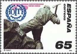 ESPAÑA 1994 - 75º ANIVERSARIO DE LA OIT  - Edifil Nº 3288 - Yvert 2890 - 1931-Hoy: 2ª República - ... Juan Carlos I