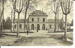CPA  MONTAUBAN, Gare Villenouvelle  11128 - Montauban