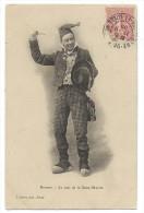 CPA - BRESSAN, LE JOUR DE LA SAINT MARTIN - Circulé 1905 - D. Duval, Phot. à Bourg - Europe