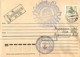 "RUSSIAN 1992 BARK ""Sedov"". «COLUMBUS-RACE 1492-1992» - Christopher Columbus"