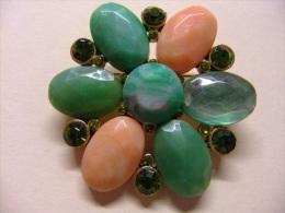 VINTAGE BROCHE ANTIGUO DE BISUTERÍA - Broche Vintage Antique Jewelry - BROOCH VINTAGE ANTIQUE JEWELRY - Broches
