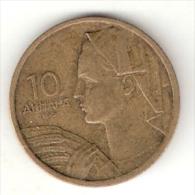 Yugoslavia  10 Dinars 1955   KM 33  Xf+ - Yugoslavia