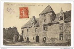 Cpa 22 Manoir De KERAUZERN Côtes Du Nord - France