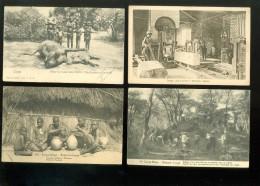 Beau lot de 20 cartes postales de Congo belge ( 12 envoy�es )   Mooi lot van 20 postkaarten van Kongo  -  20 scans