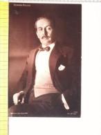 Cart.-  Giacomo Puccini - Musicista Di Opere Liriche. - Chanteurs & Musiciens