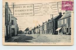 SAINT JULIEN DE VOUVANTES - Rue Principale Du Bourg. - Saint Julien De Vouvantes