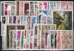 FRANCE Année Complete 1973 Neuve Sans Charniere. ** (MNH) - 1970-1979