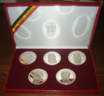 1977 - Dynastie Belgische Koningen  - TBB - Zilver - RARE - See Scans - Collections