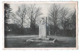 3316   BINCHE  : Monument Au Général Boussart 1956 - Binche