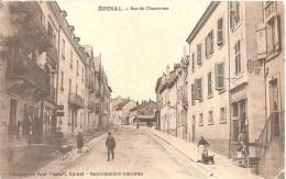 Cpa 88 Epinal Rue De Chantraine Belle Animation Rare A Voir - Epinal