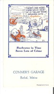 Conner's Garage, Bethel, Maine Raybestos In Time Saves Lots Of Crime - Automotive