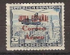 Patrioticos Burgos 72 * Correo Aereo. Charnela - Emisiones Nacionalistas