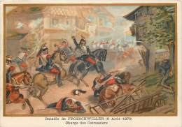 G. GERMAIN : Beau Chromo, Bataille DeFroeschwiller (6 Août 1870) - Otros Municipios