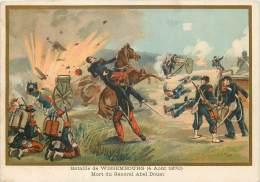 G. GERMAIN : Beau Chromo, Bataille DeWissembourg  (4 Août 1870) - Wissembourg