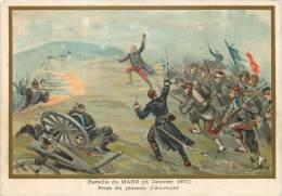 G. GERMAIN : Beau Chromo, Bataille De Mans (11 Janvier 1871 ) - Le Mans
