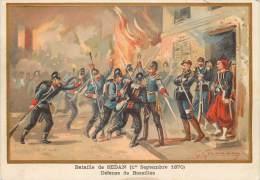 G. GERMAIN : Beau Chromo, Bataille DeSedan (1 Septembre 1870 ) - Sedan