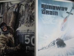 Plaquette 4 Pages (21x15 Cm) : Runaway Train, Konchalovsky. 2013 - Non Classificati