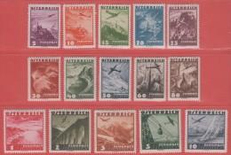 1935 * (avec Charn., MH, Falz)   Yv  PA32/46       Mi  598/12        ANK 598/12 - 1918-1945 1. Republik