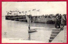44  SAINT-NAZAIRE - La Jetée Un Jour De Régates - Saint Nazaire