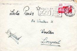 YOUGOSLAVIE. N°764 De 1958 Sur Enveloppe Ayant Circulé. Théâtre De Titograd. - Covers & Documents