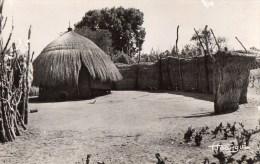 54Bc    Tchad case de la region de Fort Archambault