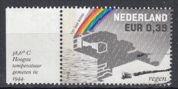 Nederland - 150 Jaar KNMI - Gebruikt/gebraucht/used - NVPH 2248 Tab Links - Periode 1980-... (Beatrix)