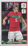 Panini-chromo Voetbal – UEFA Euro2012 – Portugal – Fábio Coentrão – Nummer 26 - Panini
