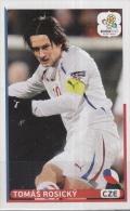 Panini-chromo Voetbal - UEFA Euro2012 - Tsjechische Republiek - Tomás Rosický - Nummer 178 - Panini