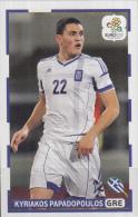 Panini-chromo Voetbal - UEFA Euro2012 - Griekenland - Kyriakos Papadopoulos - Nummer 196 - Edición  Holandesa
