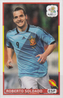 Panini-chromo Voetbal - UEFA Euro2012 - Spanje - Roberto Soldado - Nummer 217 - Panini