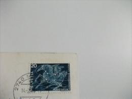 STORIA POSTALE FRANCOBOLLO COMMEMORATIVO Svizzera Aereo 5531 Mirages En Escadrille - 1946-....: Moderne