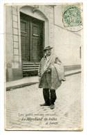 CPA 75 : PARIS  Petits Métiers : Le Marchand De Toiles à Laver  1906    A  VOIR  !!!!!!! - France
