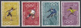 Liechtenstein - Olympische Winterspiele/Olympische Winterspelen 1972 - Sapporo - MNH/postfris - Michel 551-554 - Winter 1972: Sapporo