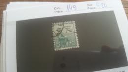 LOT 254880 TIMBRE DE FRANCE OBLITERE N�149 VALEUR 20 EUROS