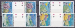 Greenpeace 1999 Tuvalu Corals 4v Gutter  ** Mnh (21287) - Tuvalu