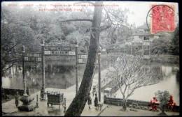 VIETNAM  INDOCHINE ANNAM PAGODE OU SE FONT LES CEREMONIES RITUELLES TOMBEAU DE MINH MANG  DIEULEFILS EDITEUR - Viêt-Nam