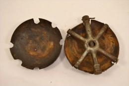 Grenade Tortue Grand Modèle, Inerte Allemand WW1 1914-1918 Allemand Première Guerre Mondiale - 1914-18
